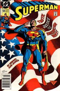 Superman (1987 series) #53, NM- (Stock photo)