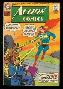 ACTION COMICS #291 1962-DC COMICS-SUPERMAN-SUPERGIRL VG
