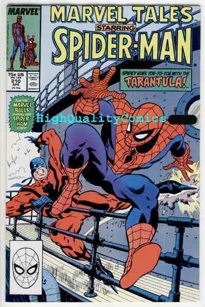 MARVEL TALES #210, NM, Spider-man, Tarantula, Ross Andru, Gerry Conway