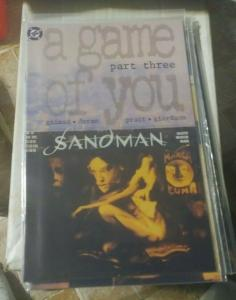 SANDMAN # 34 1992 DC COMICS NEIL GAIMAN  A GAME OF YOU PT 3+DOLLS HOUSE BARBIE