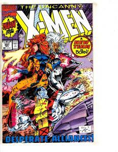 10 Uncanny X-Men Marvel Comic Books #281 283 284 285 286 287 288 289 290 291 DB9
