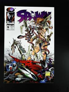 Spawn #9, NM- (Actual scan)