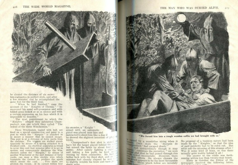 The Wide World Pulp March 1930- Buried Alive- Hooded Menace