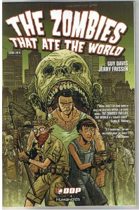 ZOMBIES THAT ATE the WORLD #1, NM+, Guy Davis, 2009, Undead,more Horror in store