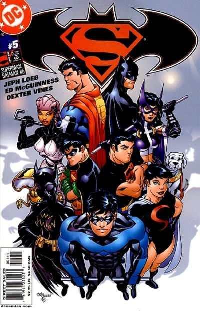 Superman/Batman #5, NM- (Stock photo)