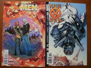 2 Near-Mint Marvel Comic: EXTRAORDINARY X-MEN #3 & NEW X-MEN #129 Fantomex Ororo