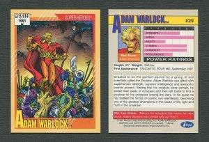 1991 Marvel Comics II  Card  #29 ( Adam Warlock )  MINT