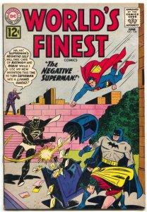 WORLD'S FINEST #126 BATMAN SUPERMAN GREEN ARROW 1962 DC FN+