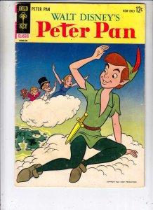 Movie Comic Peter Pan #1 (Sep-63) VG/FN Mid-Grade Peter Pan