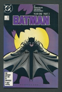 Batman #405 (1st Print) Year One / 8.5 VFN+  March 1987
