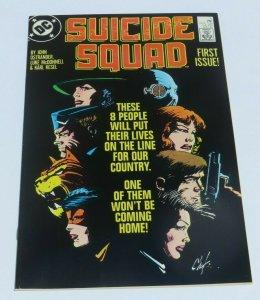 Suicide Squad #1 VF+ 8.5 High Grade DC Comic Book 1st App. Briscoe Key Issue