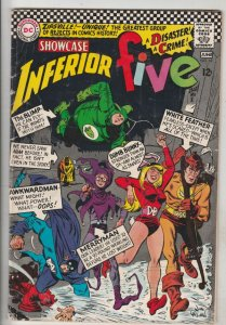 Showcase Comics #62 (Jun-66) FN+ Mid-High-Grade The Inferior Five (Merryman, ...