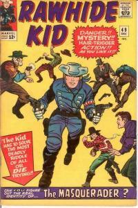 RAWHIDE KID (1960-1979) 49 F+ Dec 1965 Colan repr COMICS BOOK