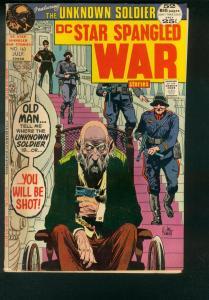STAR SPANGLED WAR STORIES #163 1971 UNKNOWN SOLDIER VG/FN