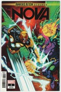 Annihilation Scourge Nova #1 Petrovich Variant (Marvel, 2020) NM