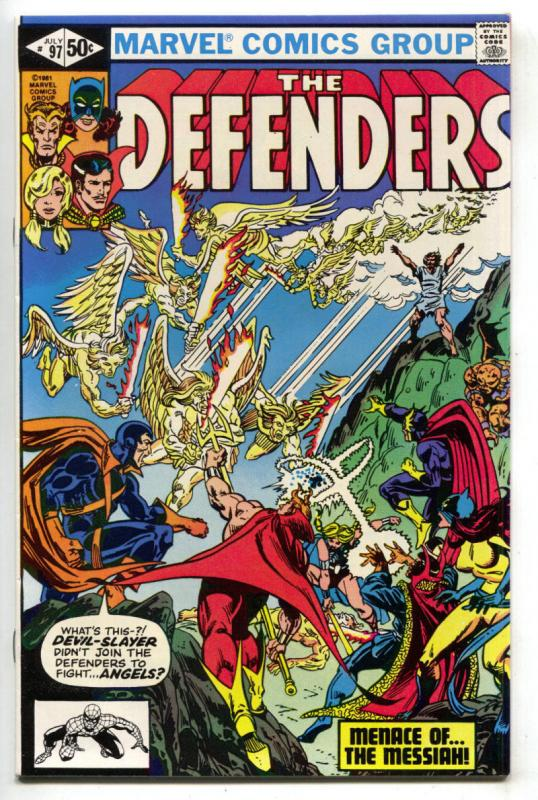 DEFENDERS #97, VF/NM, Dr Strange, Valkyrie, Devil Slayer,1972 1981, Son of Satan