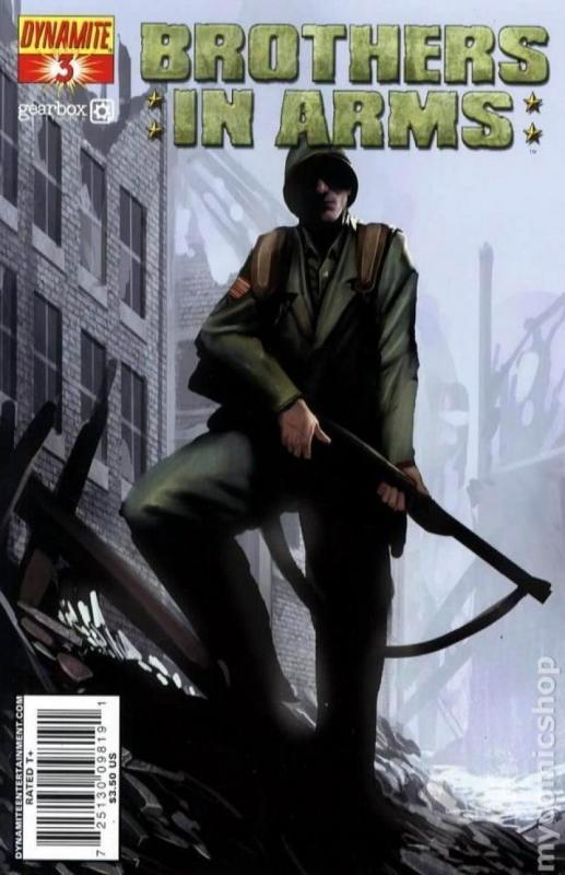 BROTHERS in ARMS #3, NM, WWII, War, Battle, 2008, more indies in store, Sejic