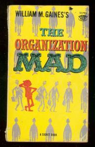 ORGANIZATION MAD PAPERBACK-S1795-WOOD-DAVIS-ORLANDO ART FR/G