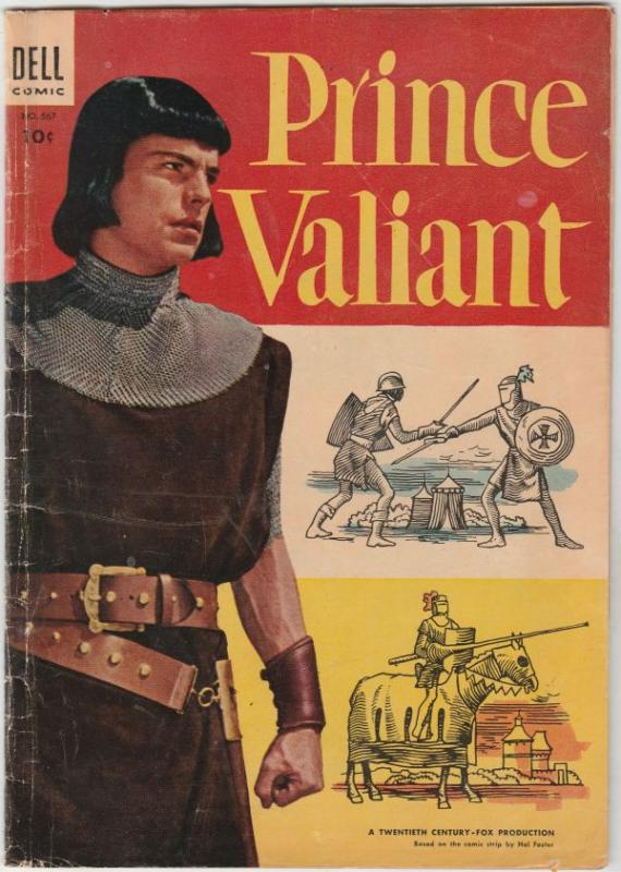 Four Color #567 (Jun-54) VG+ Affordable-Grade Prince Valiant