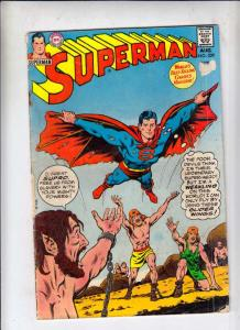 Superman #229 (Aug-70) VF High-Grade Superman, Jimmy Olsen,Lois Lane, Lana La...