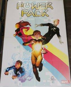 Power Pack poster - 36  x 24 - Marvel Comics promo - Ryan Stegman art 2020 #1