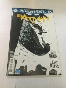 Batman Annual 2 Nm Near Mint DC Comics Rebirth