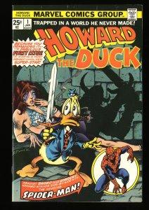 Howard the Duck #1 VF+ 8.5