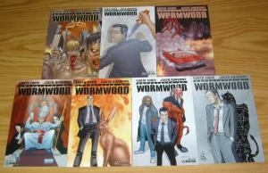 Chronicles of Wormwood #1-6 VF/NM complete series + preview - garth ennis set