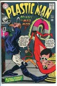 PLASTIC MAN #6 1967-DC COMICS-BIZARRE COVER-vg/fn