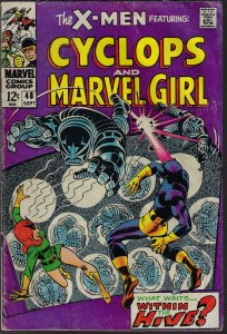 X-men #48 (Marvel, 1968) VG to VG-