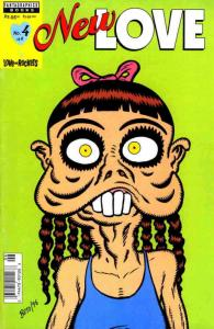 New Love #4 VF/NM; Fantagraphics | save on shipping - details inside