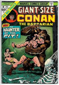 Conan the Barbarian Giant-Size #2 (Marvel, 1974) VG/FN
