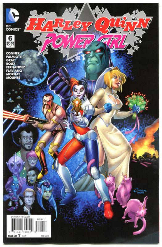 HARLEY QUINN POWER GIRL #6, NM, Connors, Palmiotti, 2015, more HQ in store