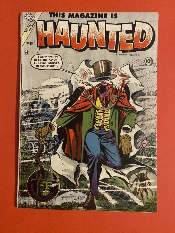 This Magazine is Haunted #19 (1954) precode horror anthology