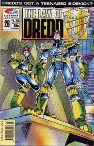 Law of Dredd, The #26 VF; Fleetway Quality | save on shipping - details inside