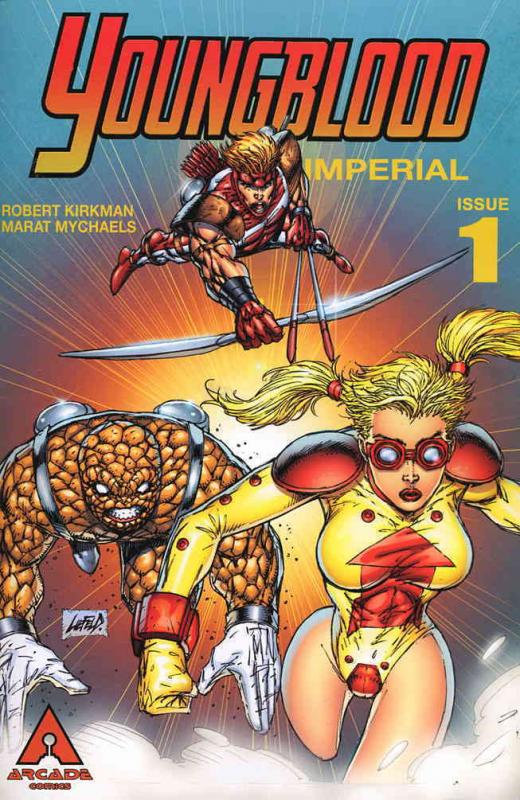 Youngblood Imperial #1 VF/NM Arcade - save on shipping - details inside