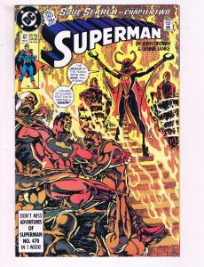 Superman #47 VF DC Comics Soul Search Chapter 2 Comic Book Ordway 1990 DE13