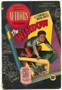 Stories by Famous Authors Illustrated #7 1950- THE WINDOW- G/VG