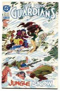 NEW GUARDIANS #2 1st SNOWFLAME DC  COCAINE VILLAIN STORY VF