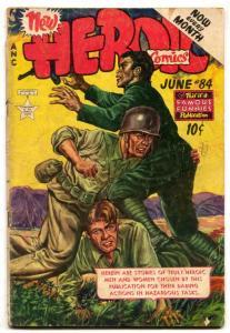 Heroic Comics #84 1953- Golden Age War G