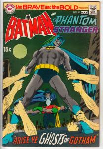 Brave and the Bold, The #89 (May-70) FN/VF Mid-High-Grade Batman, Phantom Str...