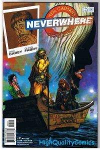 NEVERWHERE #7, VF+, Fabry, Neil Gaiman, Carey, Vertigo, 2006, more in store