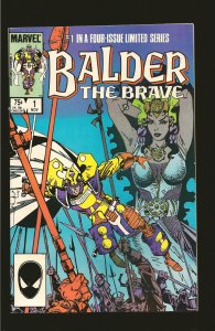 Marvel Comics Balder The Brave Vol 1 No 1 November 1985