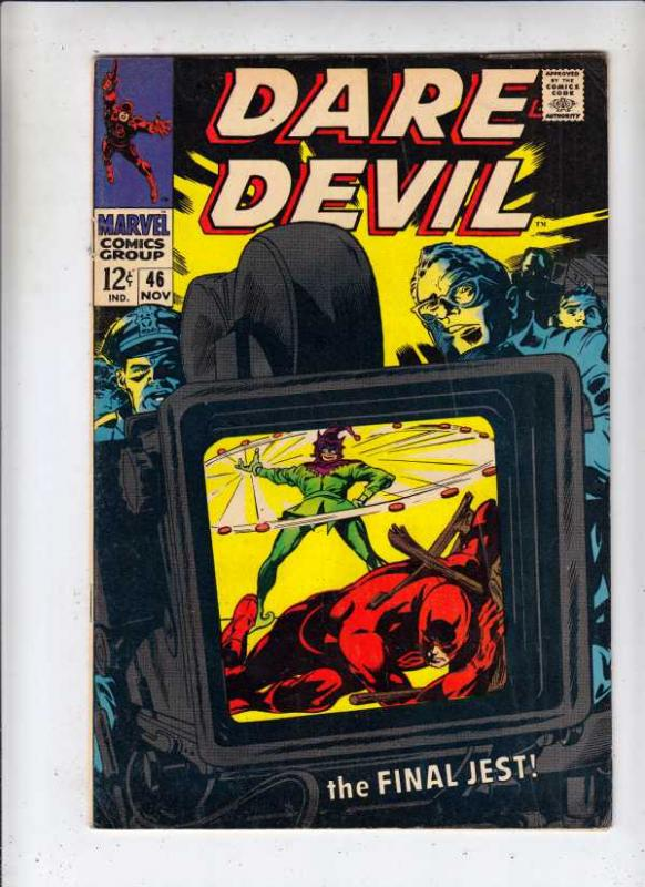 Daredevil #46 (Nov-68) FN/VF- Mid-High-Grade Daredevil