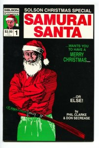 Solson Christmas Special #1 1986--1st published JIM LEE artwork -- VF/NM