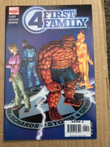 Fantastic Four: First Family #4 (2006)