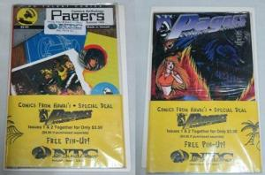 PAGERS COMICS ANTHOLOGY  1-2  'Comics from Hawaii'