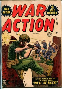 War Action  #10 1953-Atlas-violent Korean War stories-VG-