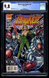 Magnus Robot Fighter (1991) #63 CGC NM/M 9.8