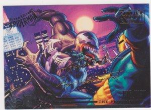 1995 Fleer Ultra Spider-Man Gold Foil Signature Series #104 Venom Flows